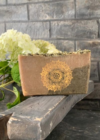 "Handmade organic Soap ""Mystery Sence""  AS006"