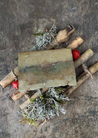 "Handmade organic soap ""Adoration"" AS001"